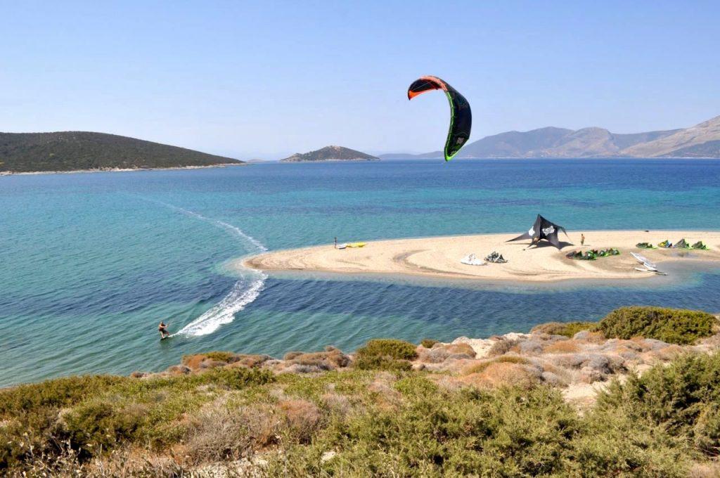 KiteGreece Kitesurfing paradise Aegean Sea