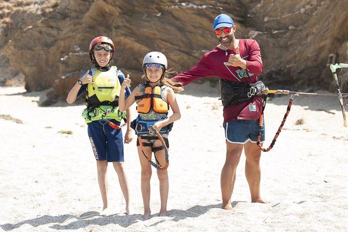 Kids kitesurfing camps
