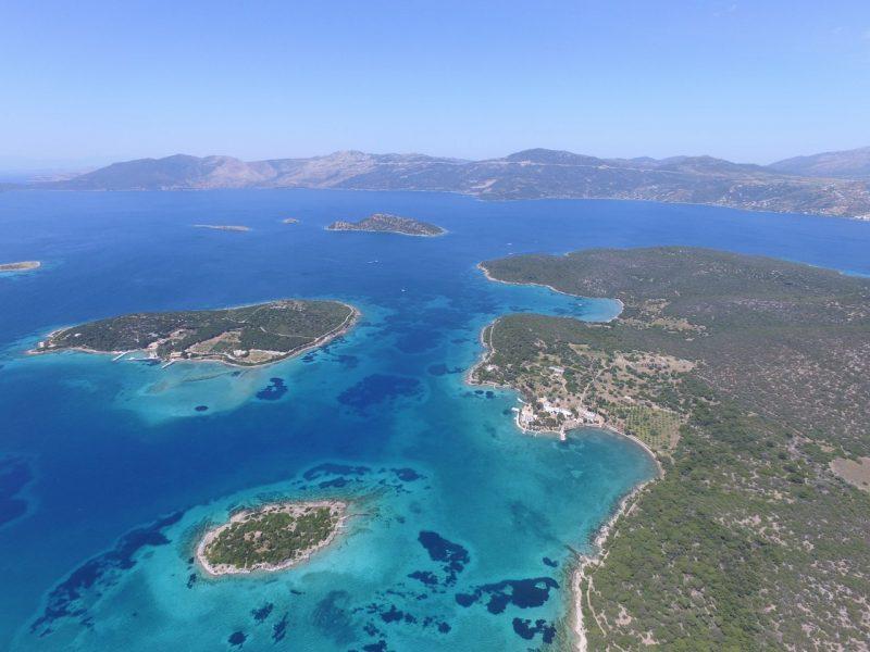 kitesurfing lessons in Greece Evia Island