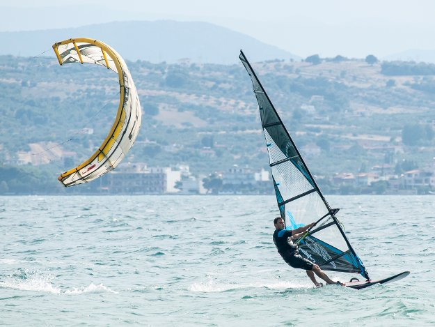 windsurfing lessons in Greece