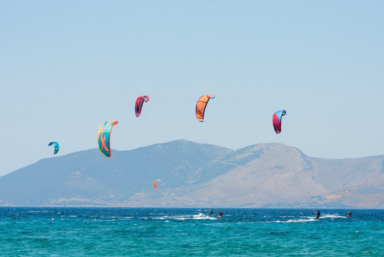 kitesurfing lessons evia island greece