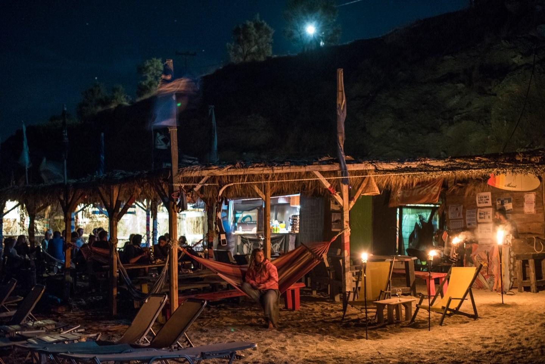 Marmari surf club and beach bar