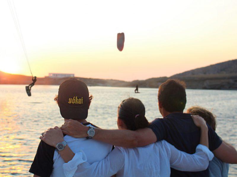 family kitesurfing holidays