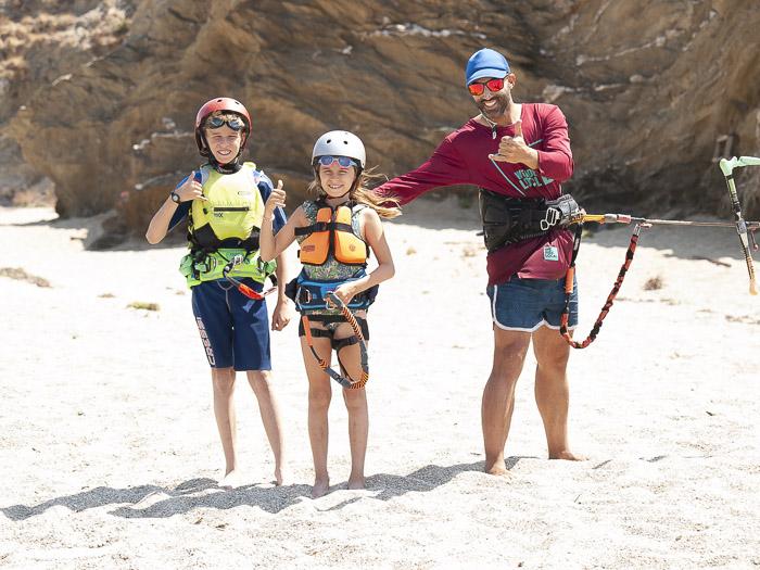 Kids Kitesurfing Lessons Greece