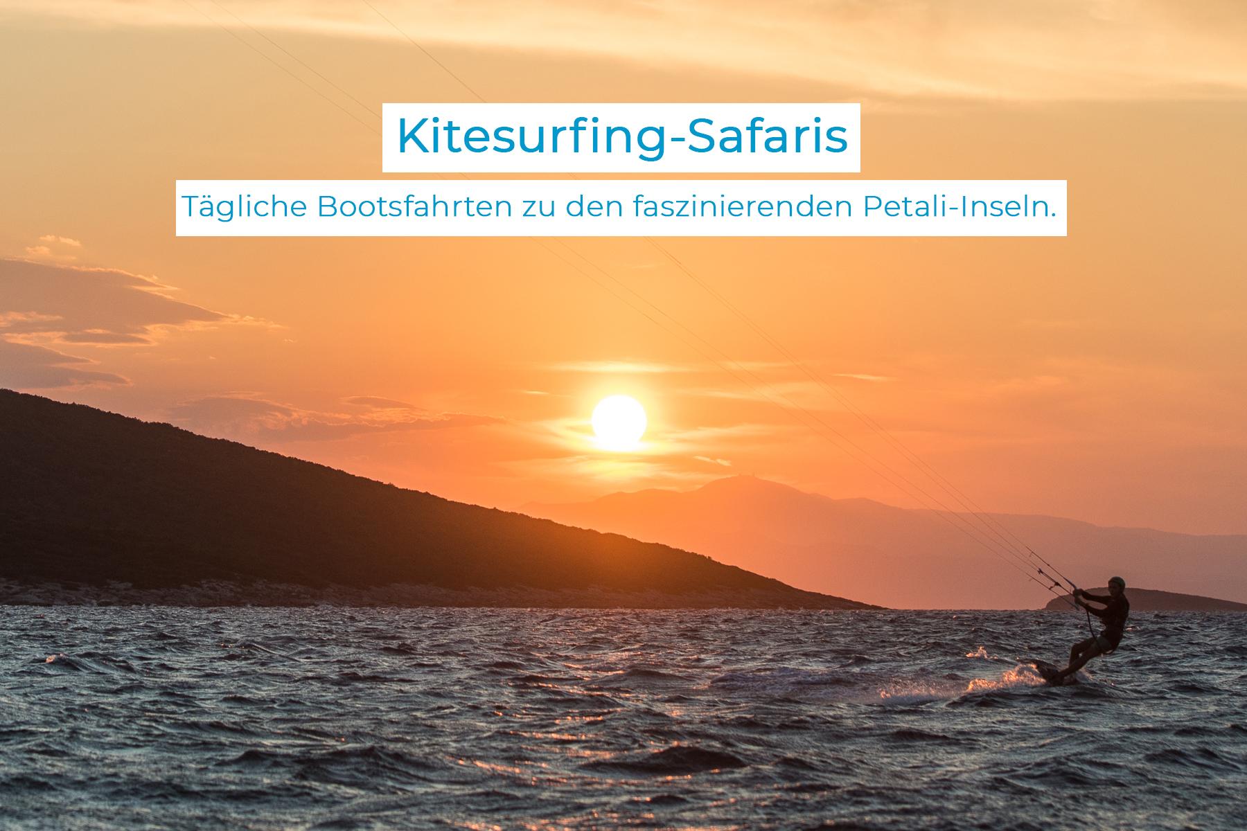 kitesurfing safari